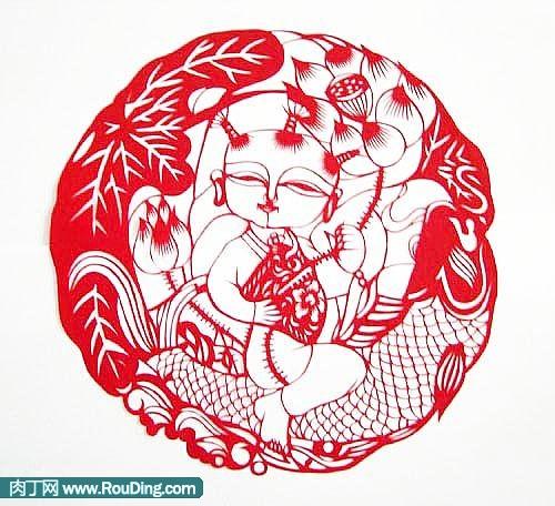 中国民间剪纸艺术的基本特征和技法