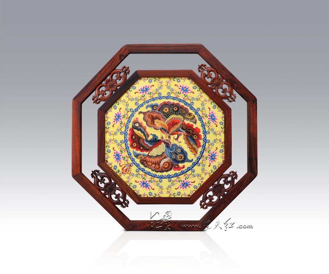 古朴典雅的刺绣挂屏    21 - h_x_y_123456 - 何晓昱的文化艺术博客