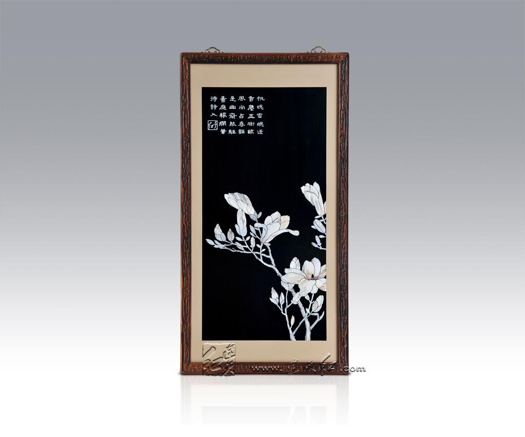 精致的螺钿挂屏    4 - h_x_y_123456 - 何晓昱的文化艺术博客
