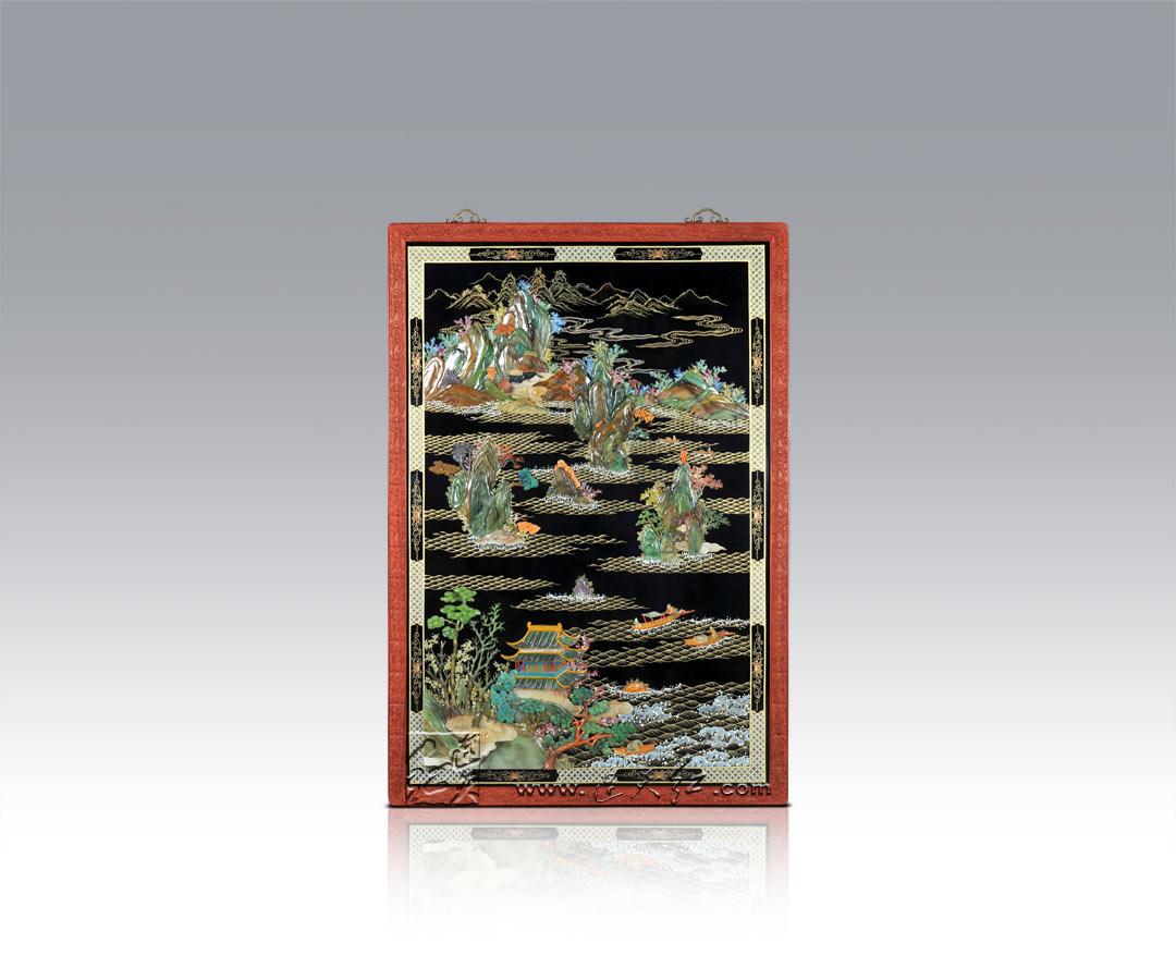 精致的螺钿挂屏    1 - h_x_y_123456 - 何晓昱的文化艺术博客