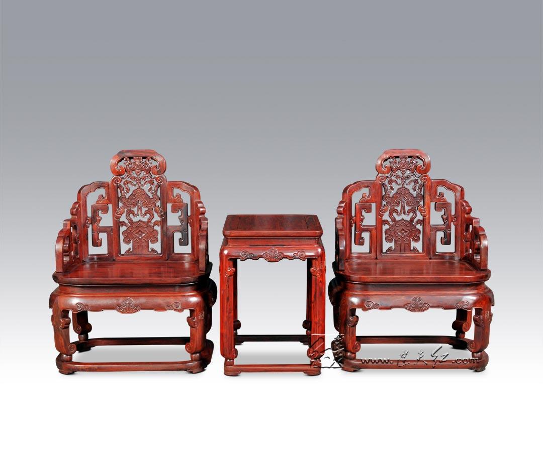 福庆纹扶手椅三件套(二)