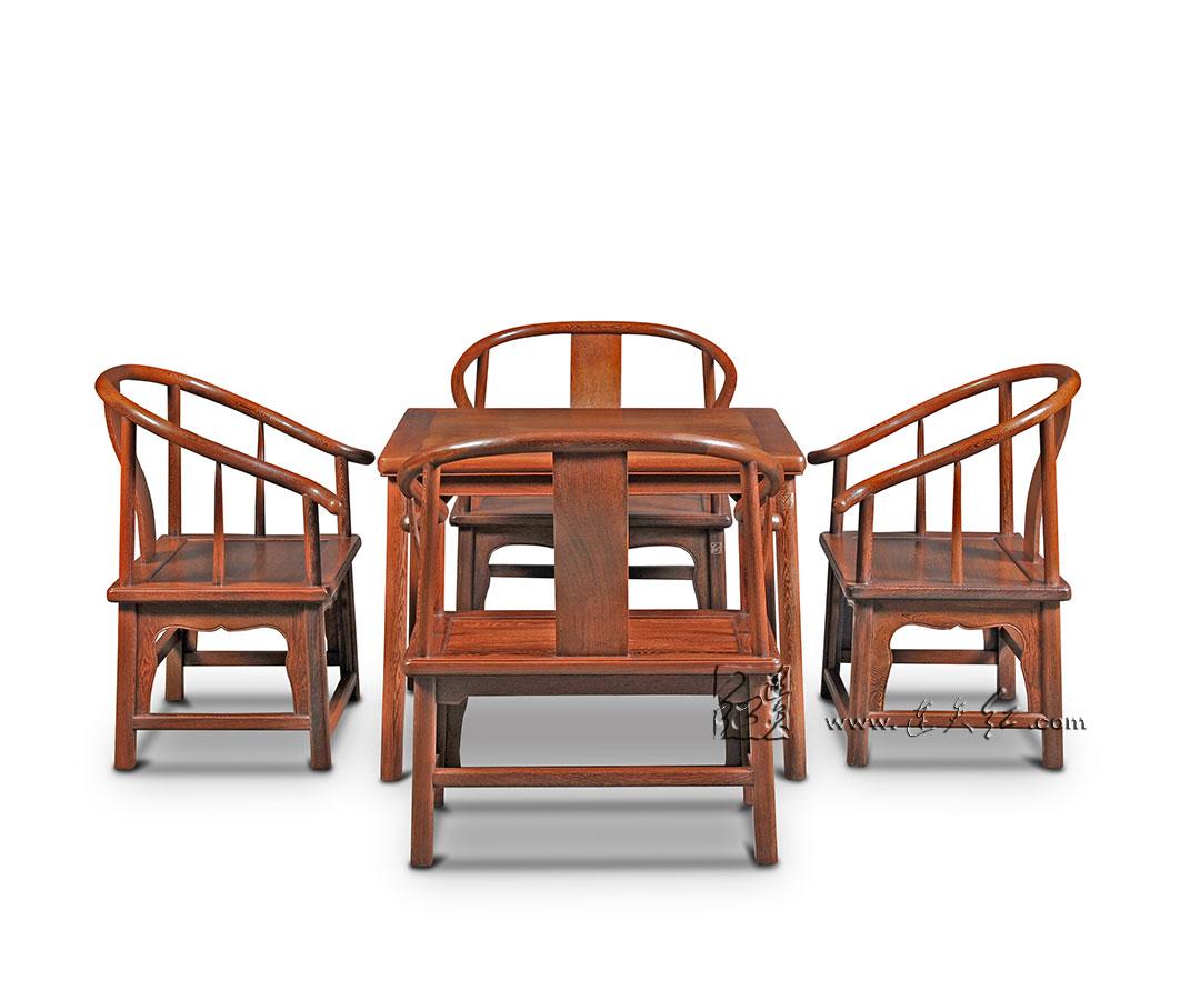 矮圈椅五件套(二)