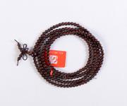印度小叶紫檀佛珠手链0.4