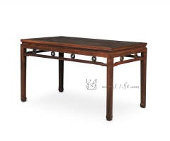 团螭纹长桌