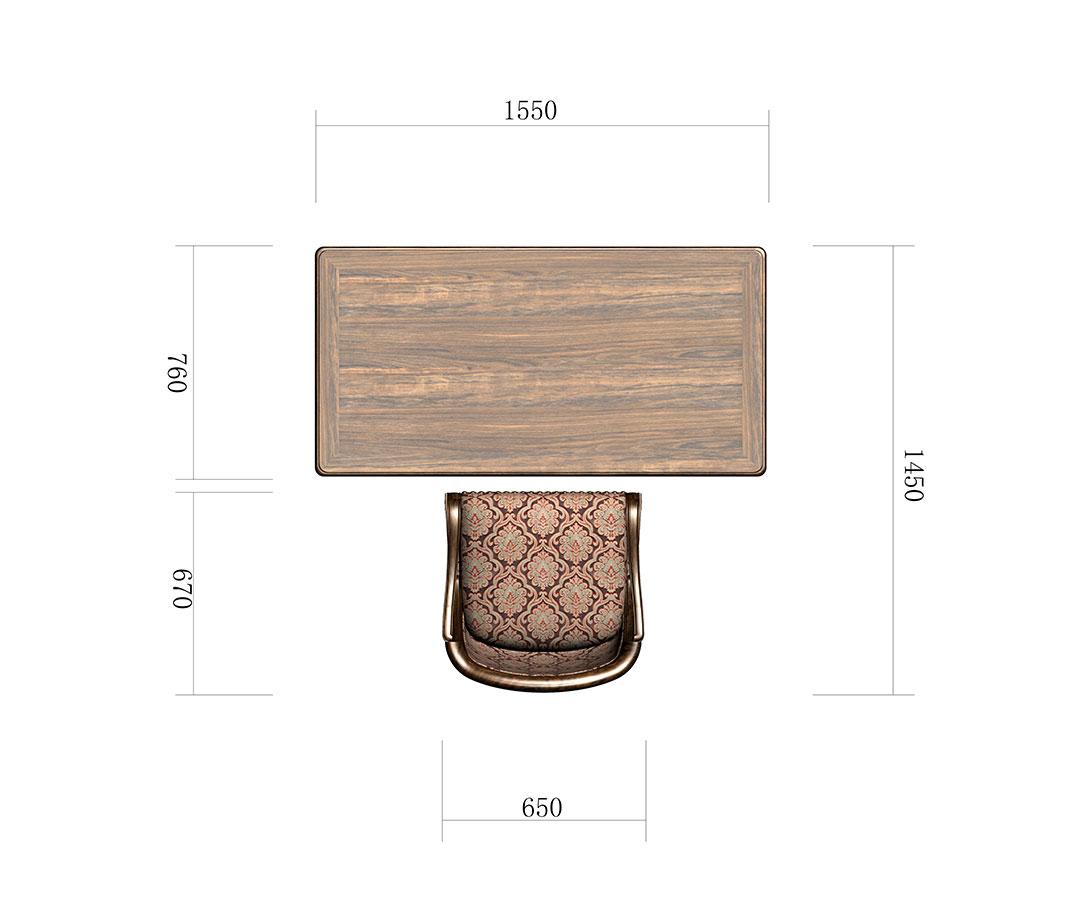 小书桌组合