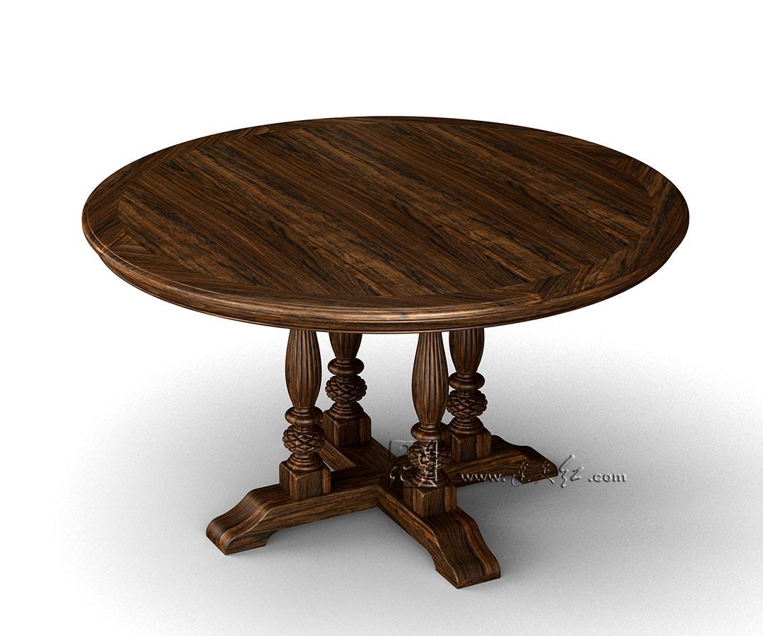 圆餐桌六件套