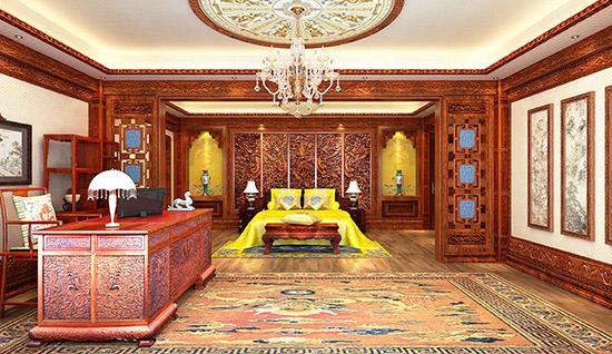中式宫廷家居设计,经典不朽图片