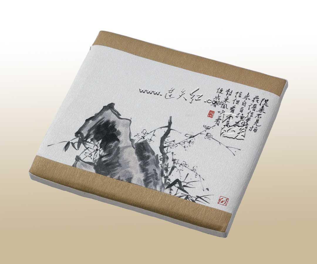 福寿纹矬双人椅(YF09A)-配套坐垫