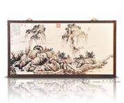 长江万里图(麻布)