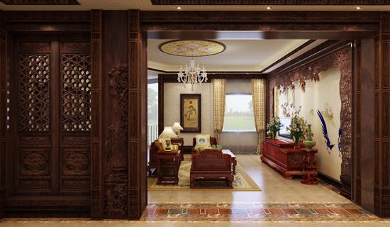 连天红百年家装 新中式家装