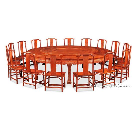 榫卯结构圆桌图解