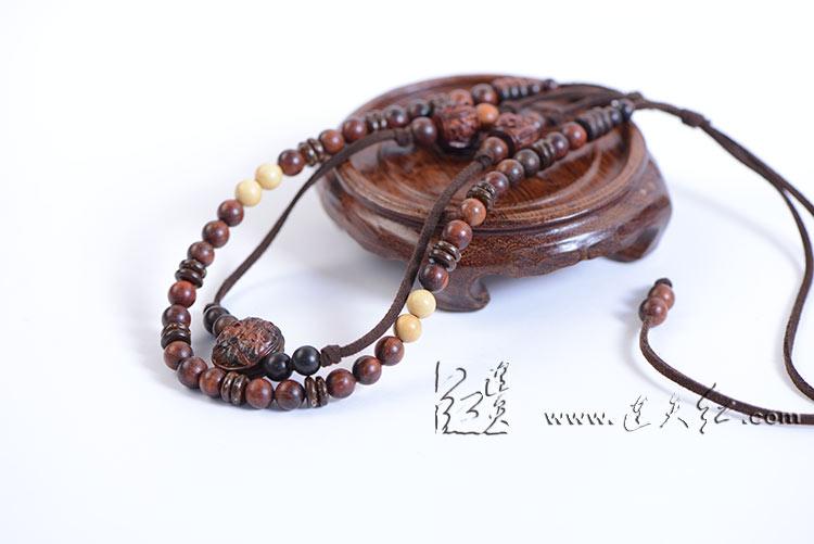牡丹纹项链