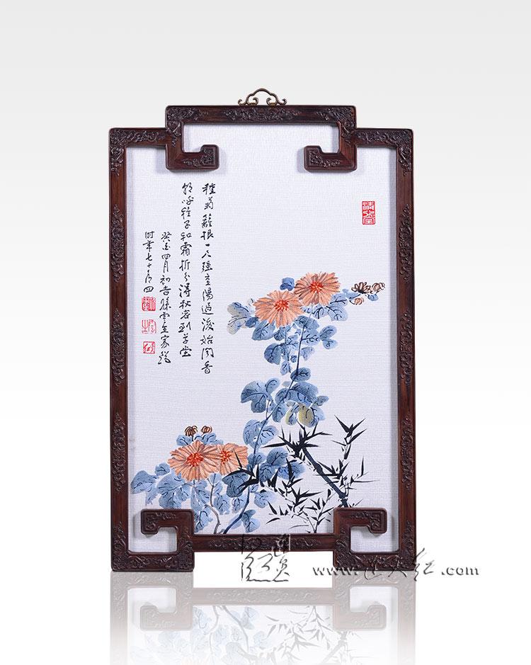 古朴典雅的刺绣挂屏    14 - h_x_y_123456 - 何晓昱的文化艺术博客