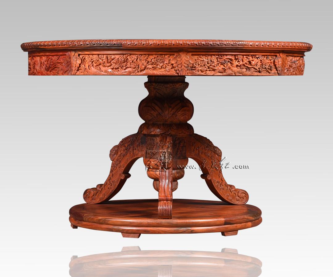圆桌(花鸟)