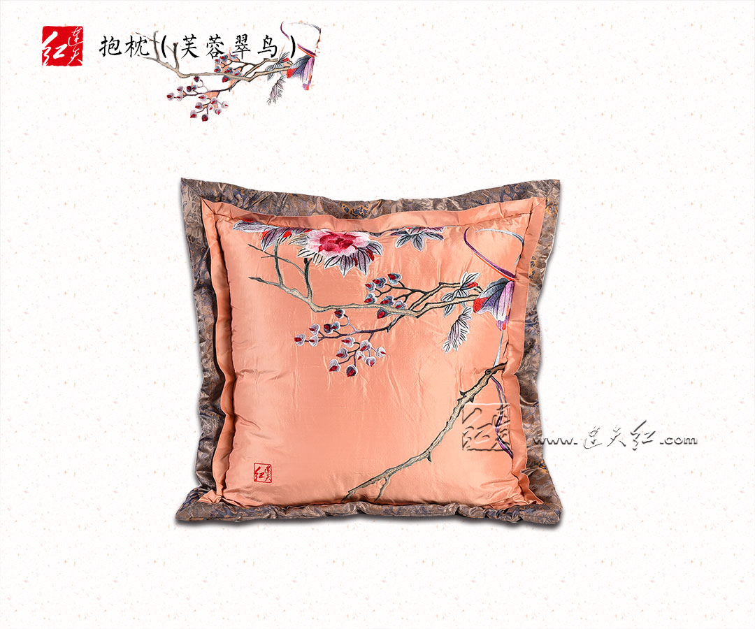 芙蓉翠鸟(真丝)