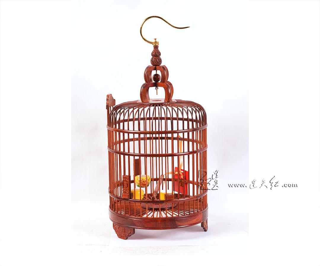 卷草纹鸟笼